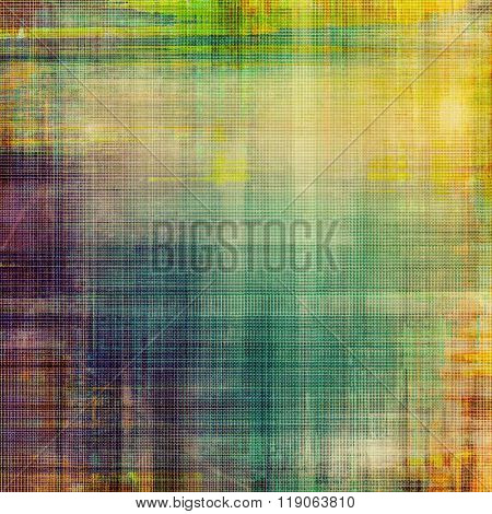Vintage aged texture, colorful grunge background with space for text or image. With different color patterns: yellow (beige); brown; green; blue; purple (violet)