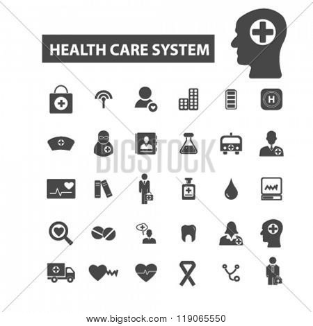 health care icons, health care logo, medical icons vector, medical flat illustration concept, medical infographics elements isolated on white background, medical logo, medical symbols set