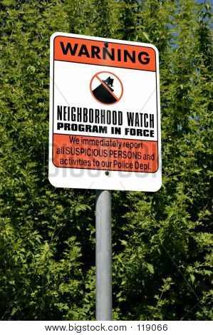 Neigborhood Watch