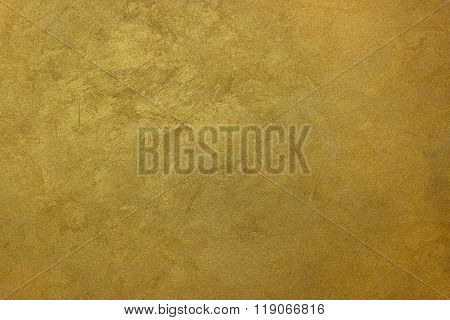 Wall texture gold silk effect  Paint background.