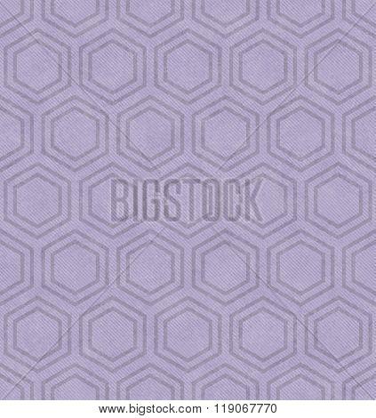 Purple Hexagon Tile Pattern Repeat Background