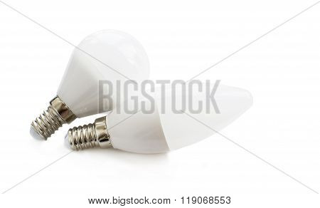 Led Lamp Oval And Round Shape