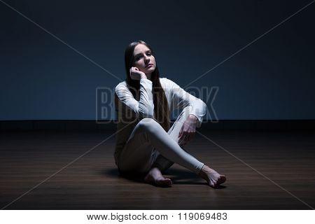 Lonely Skinny Girl
