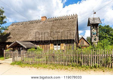 Kaszubski ethnographic park in Wdzydzki Park Krajobrazowy, Pomerania, Poland