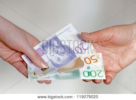 Paying With Swedish Currency, New Layout 2015