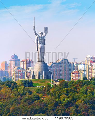 Mother Motherland Statue. Kyiv, Ukaine