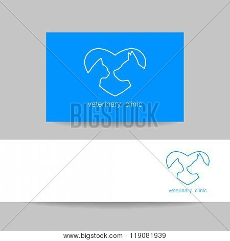 Veterinary medicine logo design template. Veterinary logo, veterinarian,  veterinary clinic, vet.