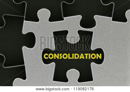 The Black Jigsaw Puzzle Written Word Consolidation