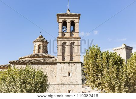 ancient church in Alhama de Aragon