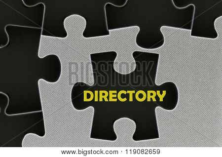 The Black Jigsaw Puzzle  Written Word Directory