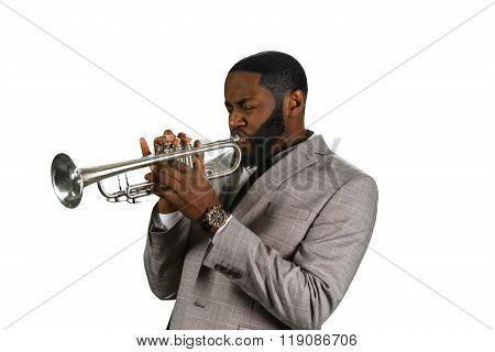 Professional trumpet musician.