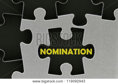 The White Jigsaw Puzzle Written Word Nomination
