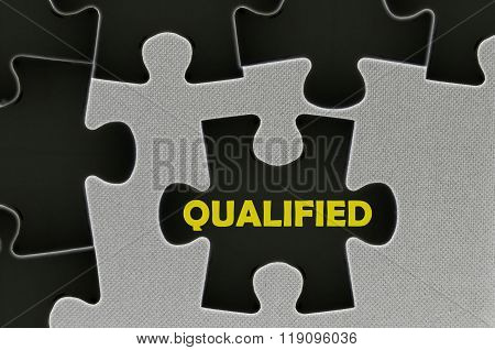 The White Jigsaw Puzzle Written Word Qualified