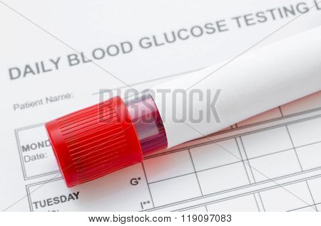 Blood Sugar Control Concept.