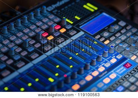 Concert Audio Mixer