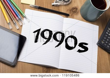 1990S  - Note Pad With Text