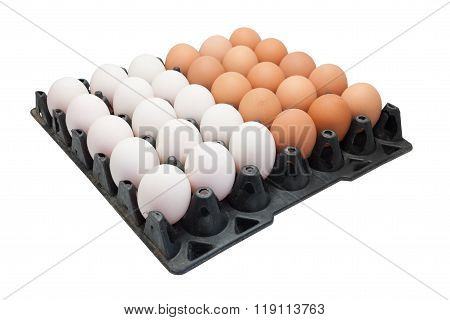 Chicken Eggs And Duck Eggs