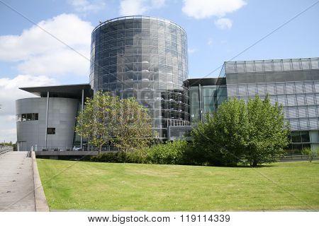 Dresden, Germany - May 19, 2014: Volkswagen's Glass Factory.
