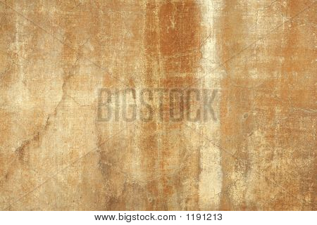 Pared ocre