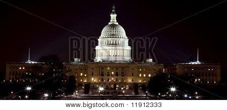US Capital At Night