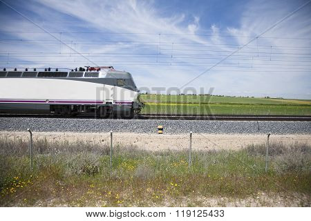 Profile Of Locomotive