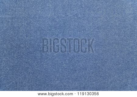 Speckled Textured Monochrome Background From Fabric Of Pale Blue Color