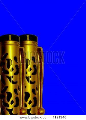 Classic Golden Pen Pair