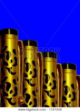 Classic Golden Pen Row