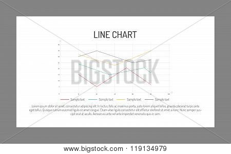 Line chart template 2