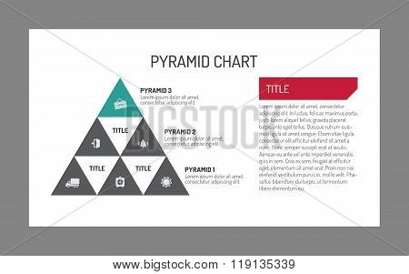 Pyramid chart template 2