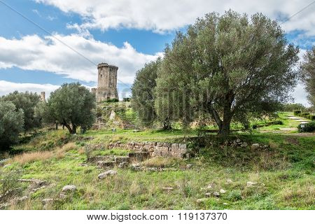 Elea Velia In Roman Times, Is An Ancient City Of Magna Grecia