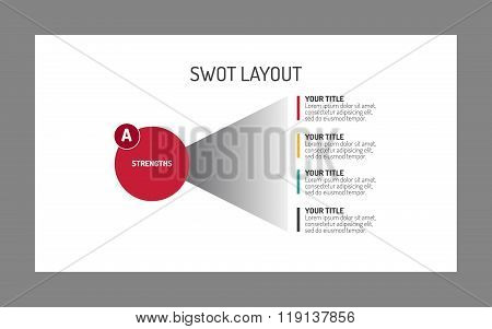 SWOT layout template