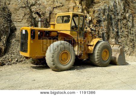 An Excavator - Digger