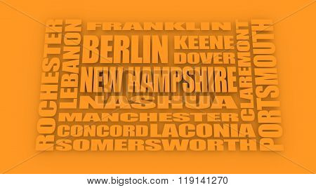 New Hampshire State Cities List