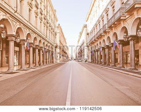 Via Roma, Turin Vintage