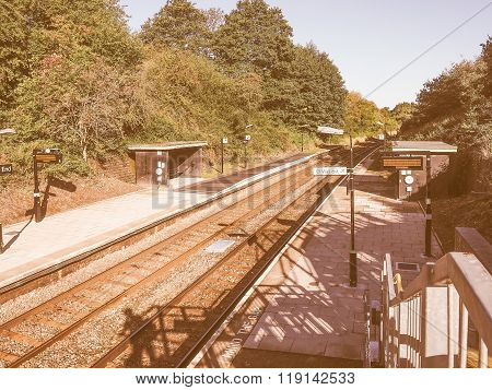 Wood End Station In Tanworth In Arden Vintage