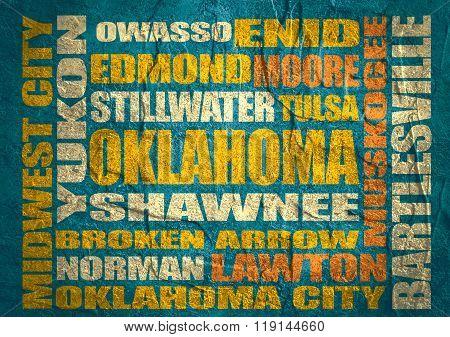 Oklahoma State Cities List
