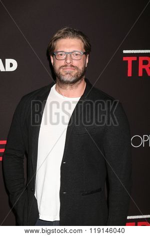 LOS ANGELES - FEB 16:  Adam Copeland, Edge at the Triple 9 Premiere at the Regal 14 Theaters on February 16, 2016 in Los Angeles, CA