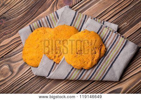 Natural homemade millet buckwheat bread