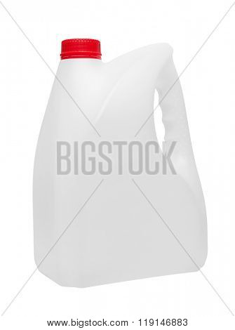 Canister isolated on white background