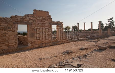 Cyprus Greece Antic Ruin