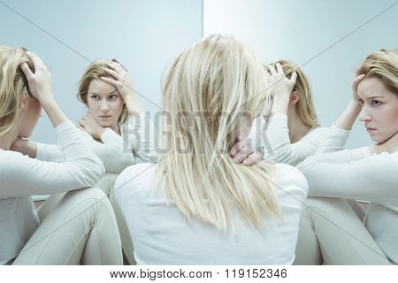 Female With Low Self Esteem