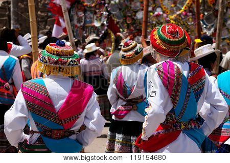 The Most Interesting Places Of South America, Peruvian Festival Wititi Protected Unesco