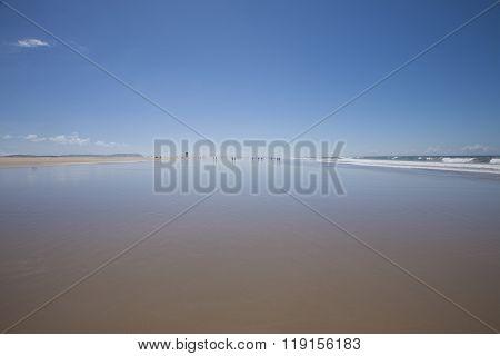 Beach Next To Conil