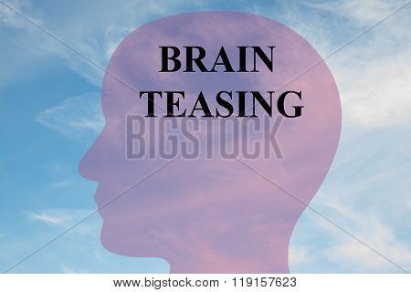 Brain Teasing Concept