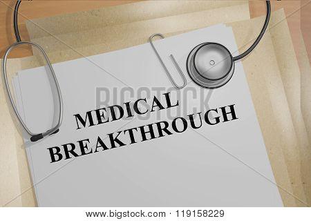 Medical Breakthrough Concept