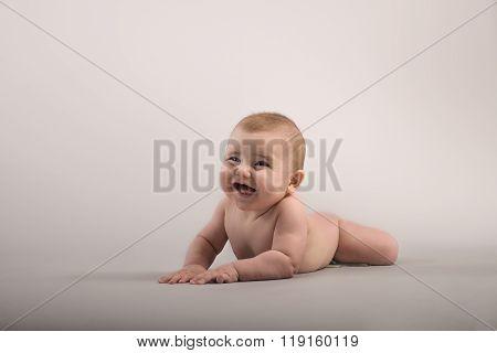 Toddler with an attitude