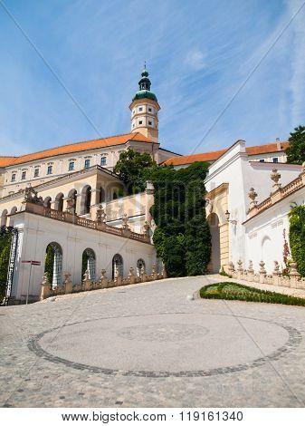 Mikulov Castle in southern Moravia