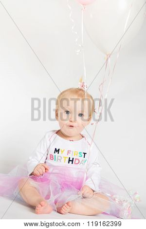 One Year Old Birthday Portraits
