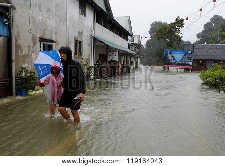 Rain and Flood